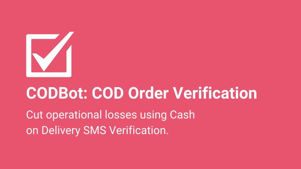 cod verification shopify